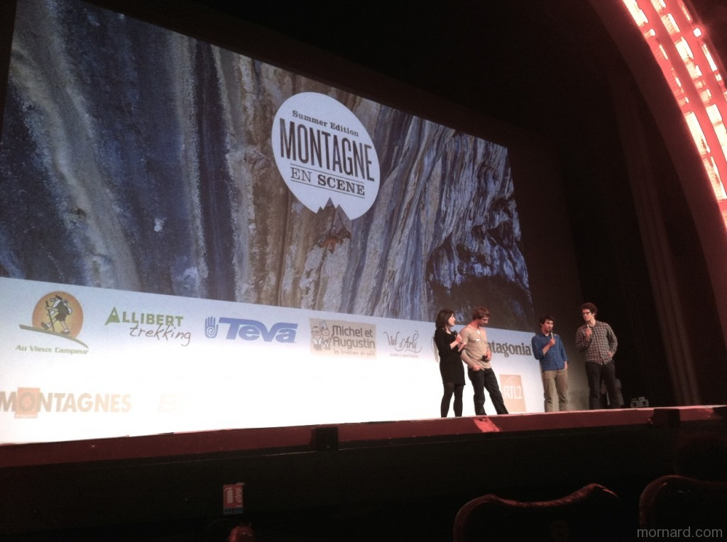 Peter Ortner et David Lama