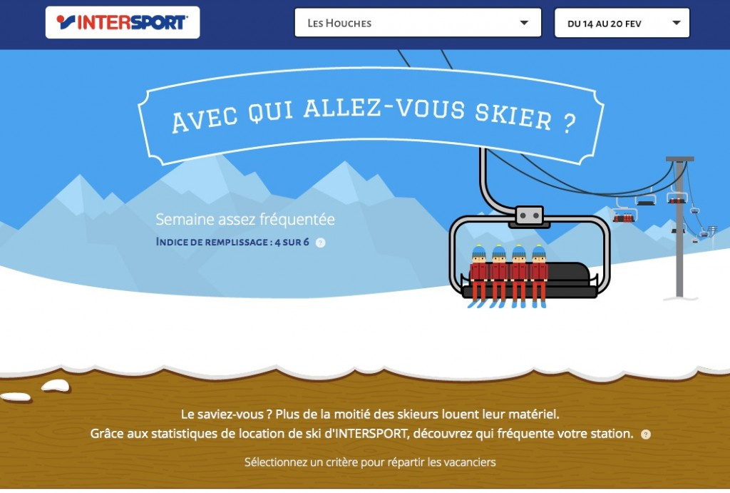 mini-site Intersport